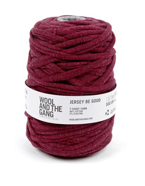 Jersey Be Good t-shirt yarn $14.99 #woolandthegang