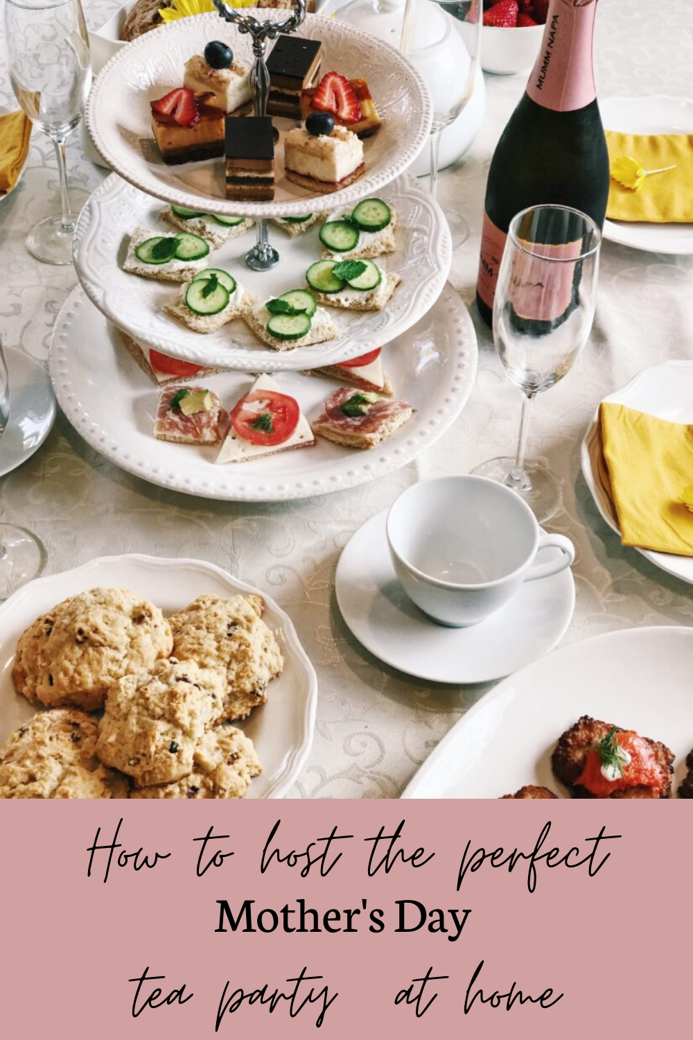 How to Throw the Perfect Tea Party | Hosting Mother's Day Brunch