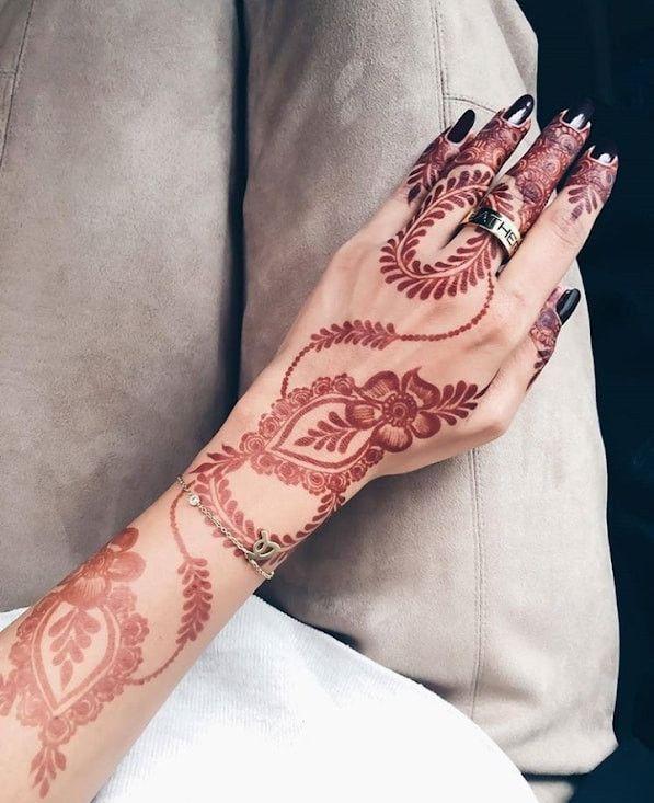 روائع نقوش حناء المبدعه رقيه البلوشي Youtube Henna Hand Tattoo Hand Henna Hand Tattoos