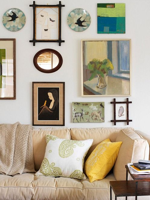 Displaying Art Eclectic Collections Gallery Walls