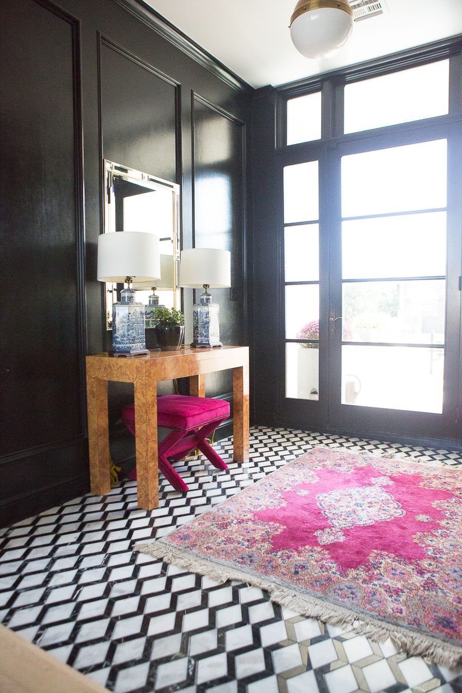 10 Bold Pink and Navy Rugs for Home Decor | Home decor, Decor ...