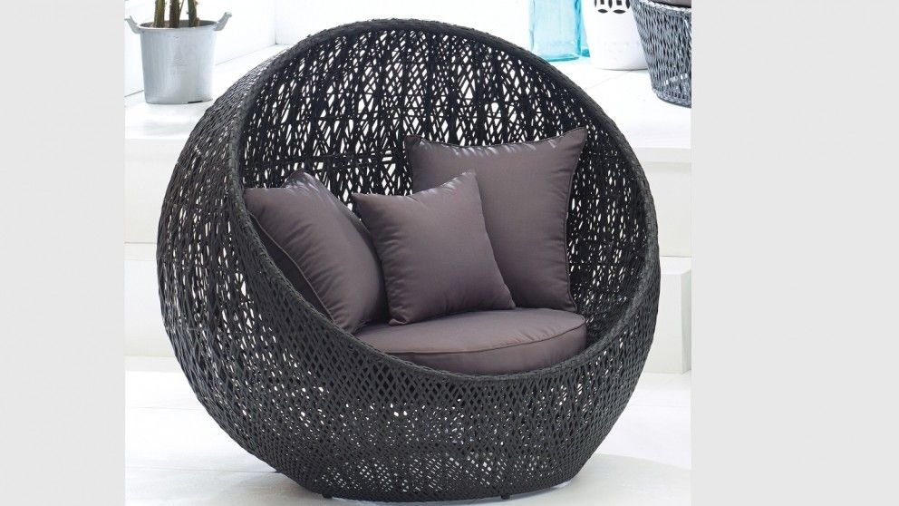Bali Ball Pod Chair   Outdoor Lounges   Outdoor Living   Furniture, Outdoor  U0026 BBQs