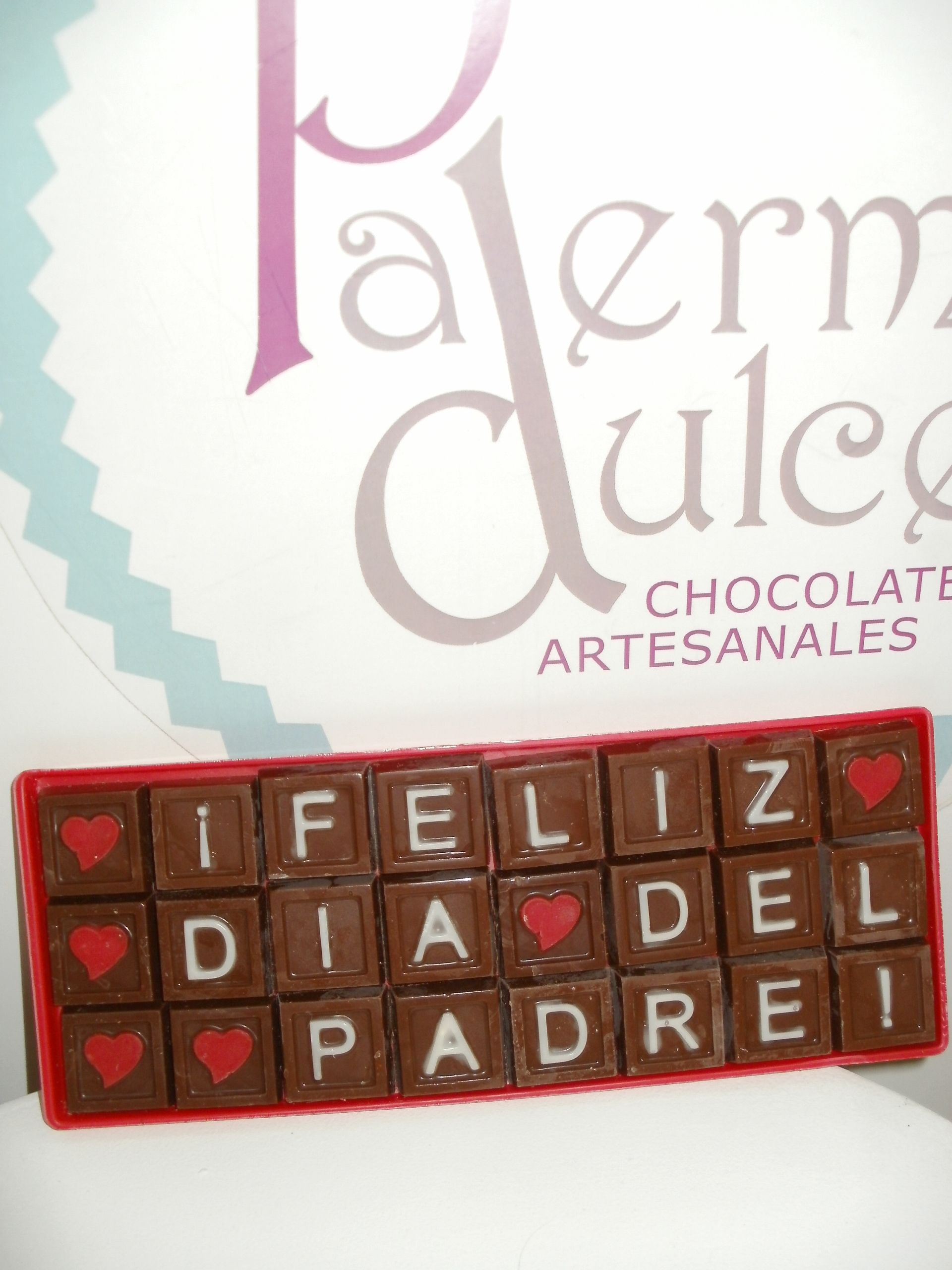 Pin by Chocolates Palermo Dulce on Letras de chocolate para ...