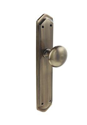 Tirador pomo con placa de laton para armario comprar - Pomos puertas armarios ...