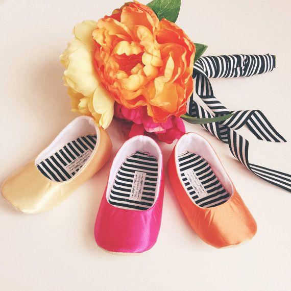 Handmade baby shoes handmade toddler shoes satin yellow satin hot items similar to toddler girl shoes baby girl shoes soft soled shoes fuchsia shoes flower girl shoes orange birthday girl shoes yellow flower girl elise mightylinksfo Choice Image