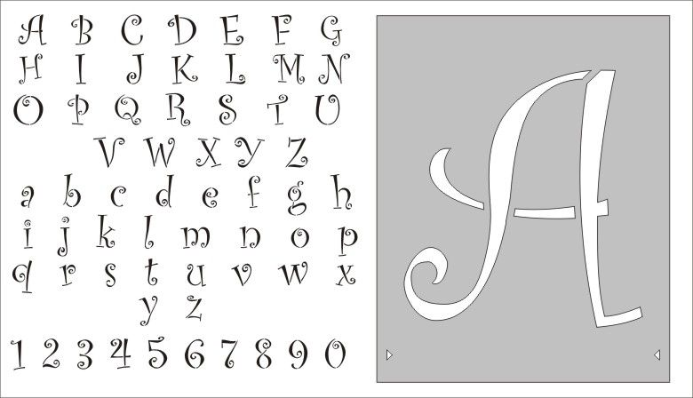 letter and number stencils for painting stencils free entire alphabet letter alphabet airbrush 24227 | 86fe90b692d4714e398bc13153894069