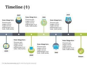 Keynote Timeline Template   Powerpoint    Timeline