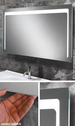 Christa backlit led illuminated mirror by hib online sale price christa backlit led illuminated mirror by hib online sale price 27920 rrp 364 saving 85 free delivery mozeypictures Gallery