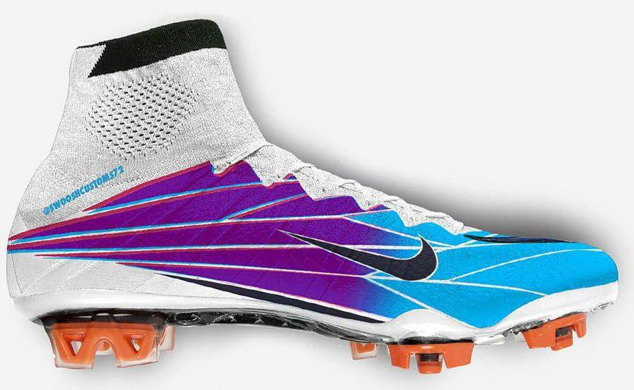 9b8bcfea4 Nike Mercurial Superfly  Windchill  Boots by Swoosh Customs - Footy  Headlines