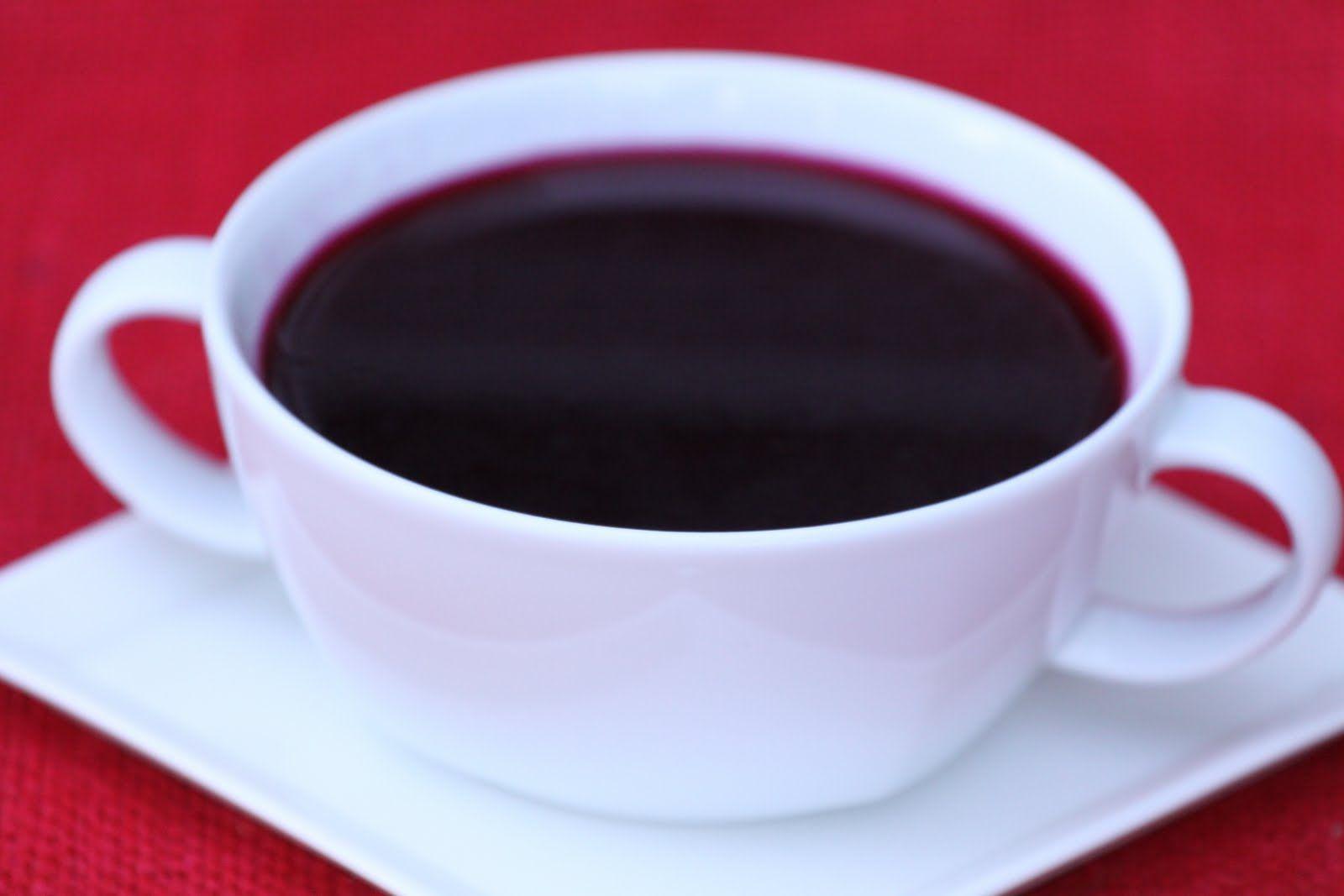 Pots and Frills: Clear Beet Soup--Polish Christmas Eve Borshch