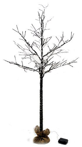 5 Ft Led Lighted Bare Branch Tree Dusted With Snow 6 Hour Timer Function A B Home Http Www Amazon Com Dp B00g3l0e1a Ref C A B Home Led Tree Tree Branches