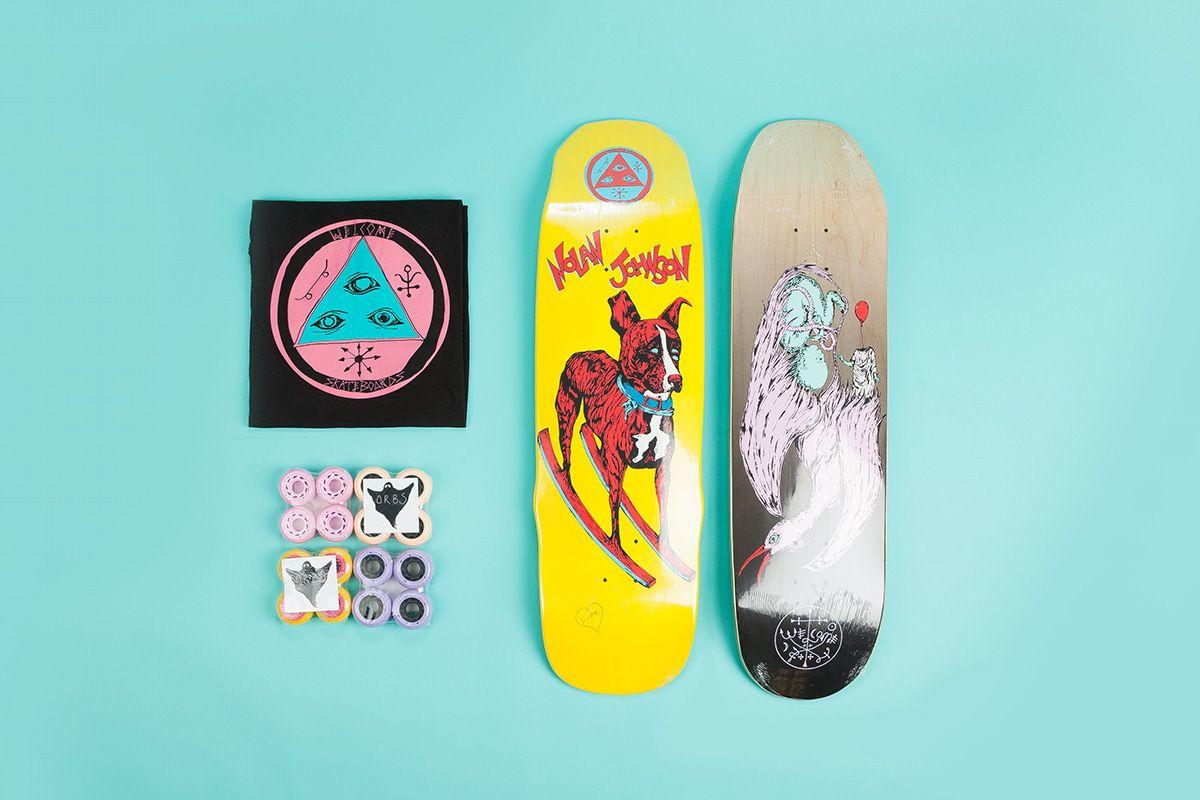Flatspot Welcome Skateboards Celaya Skateboards