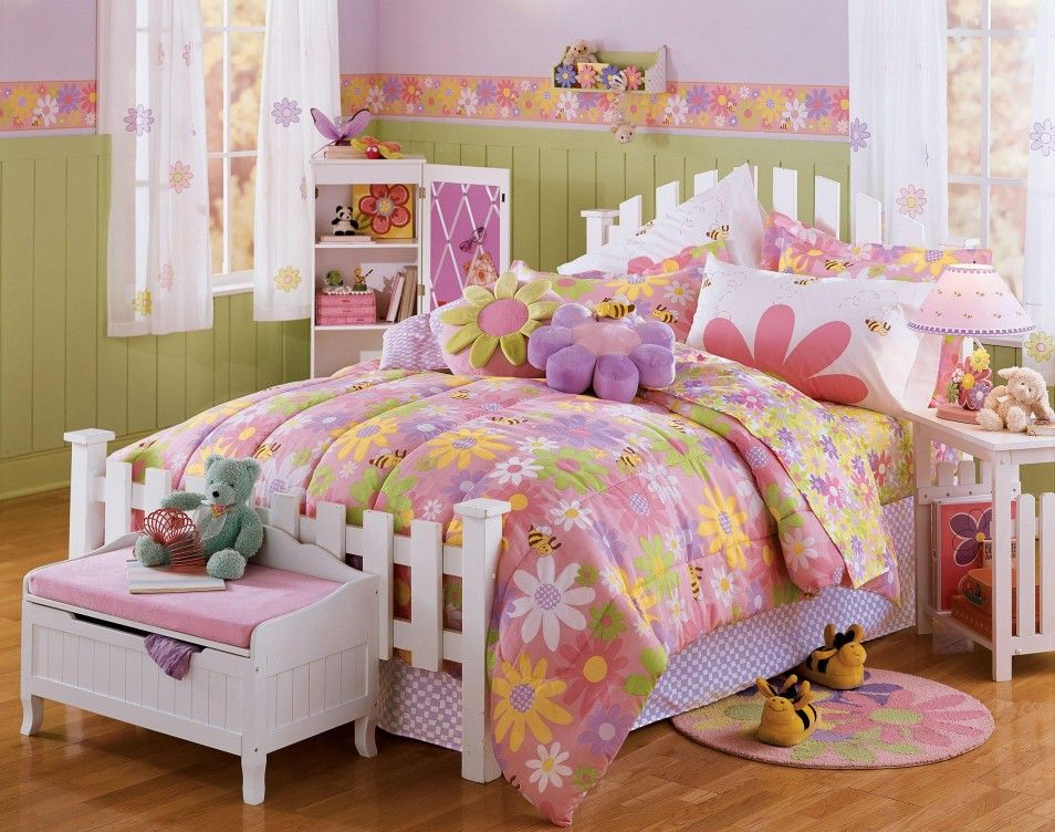 purple bed sheets white wooden bed and childrens room decor on pinterest bedroom bedroom beautiful furniture cute pink