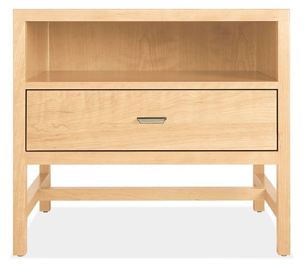Berkeley Wood Nightstands - Modern Nightstands - Modern Bedroom Furniture - Room & Board