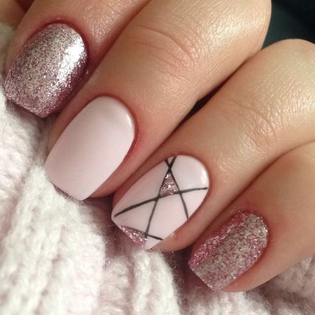 Simple but perfect 😁😁 is part of Ombre nails Round Colour - Ombre nails Round Colour