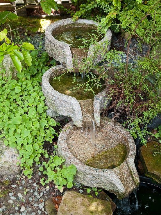 Dise o de fuentes para el jard n jard n y terrazas fuente for Diseno de fuente de jardin al aire libre