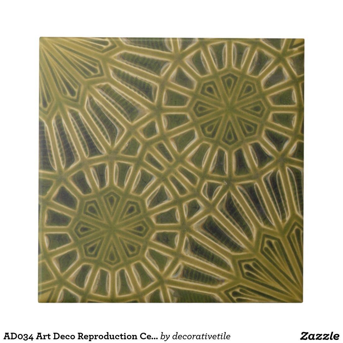 Ad034 art deco reproduction ceramic tile art deco ad034 art deco reproduction ceramic tile dailygadgetfo Images