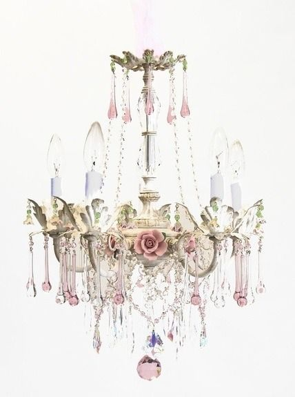 All the things i love vintageabby chicd pink cats vintage shabby pink shabby chic farmhousechandelier aloadofball Gallery