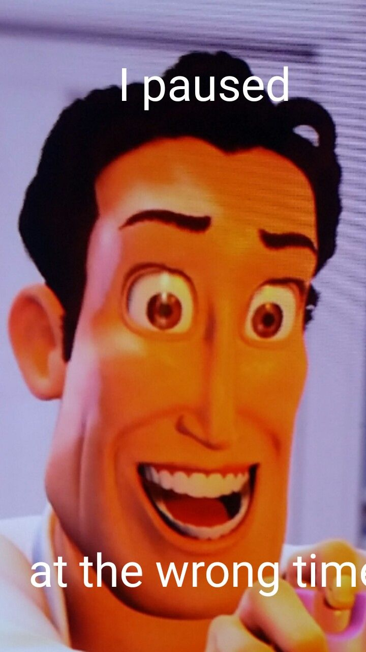 86ff0d00a837f46d106542b977661b99 paused at the wrong time in the bee movie, had to take a picture