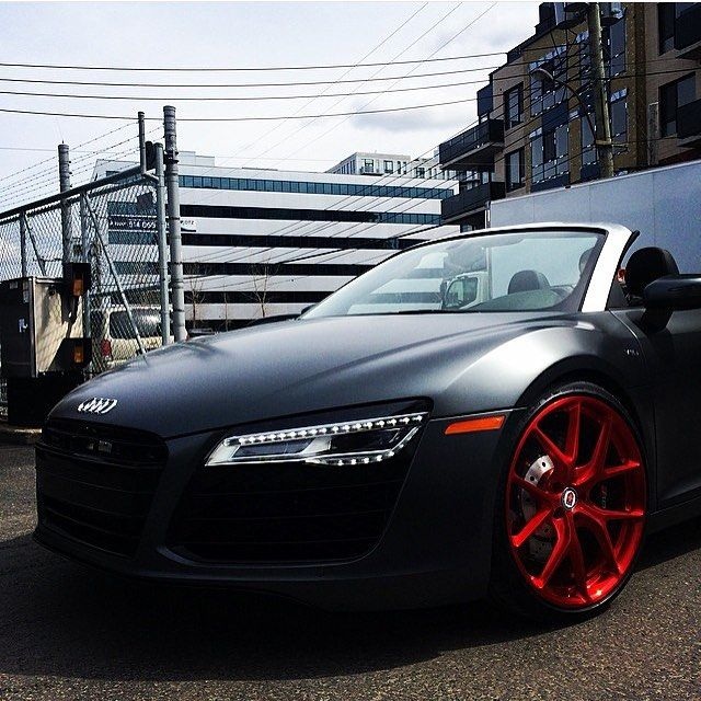 Audi R8 Contact @TOYZautoart For Luxury Car Sales