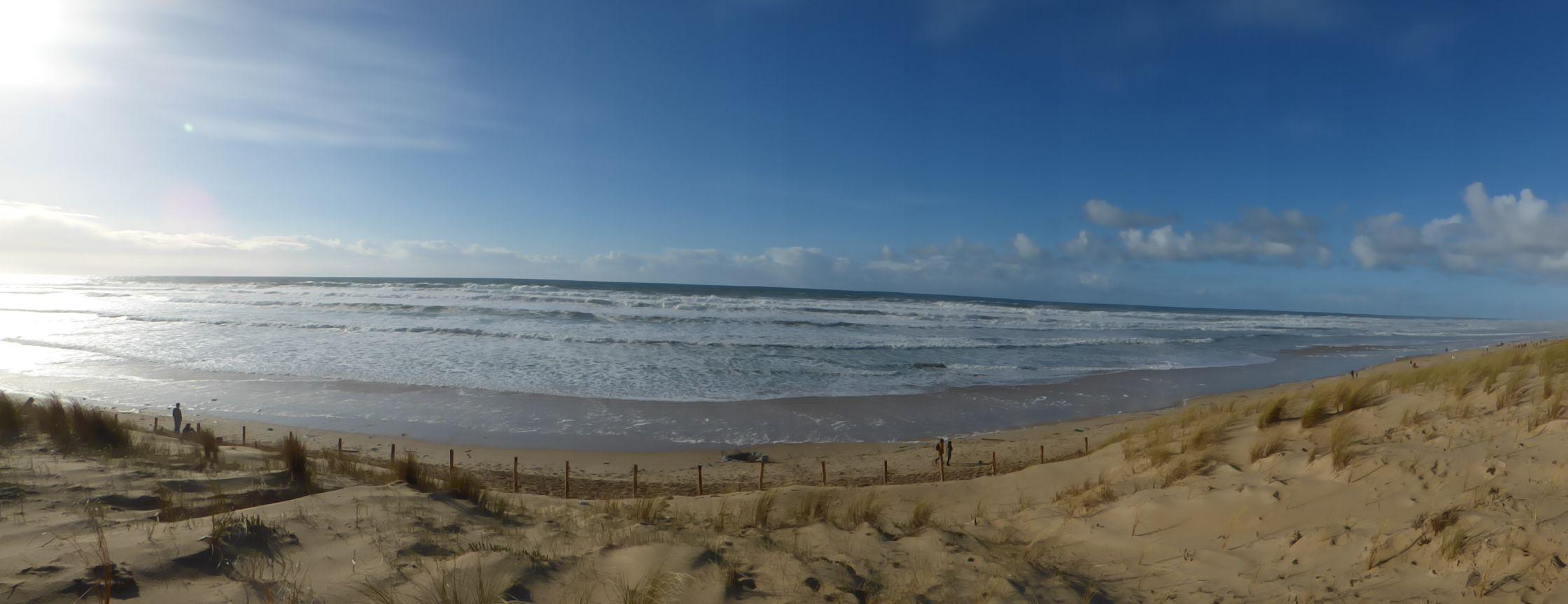 Le Porge Océan la plage l hiver LE PORGE Pinterest