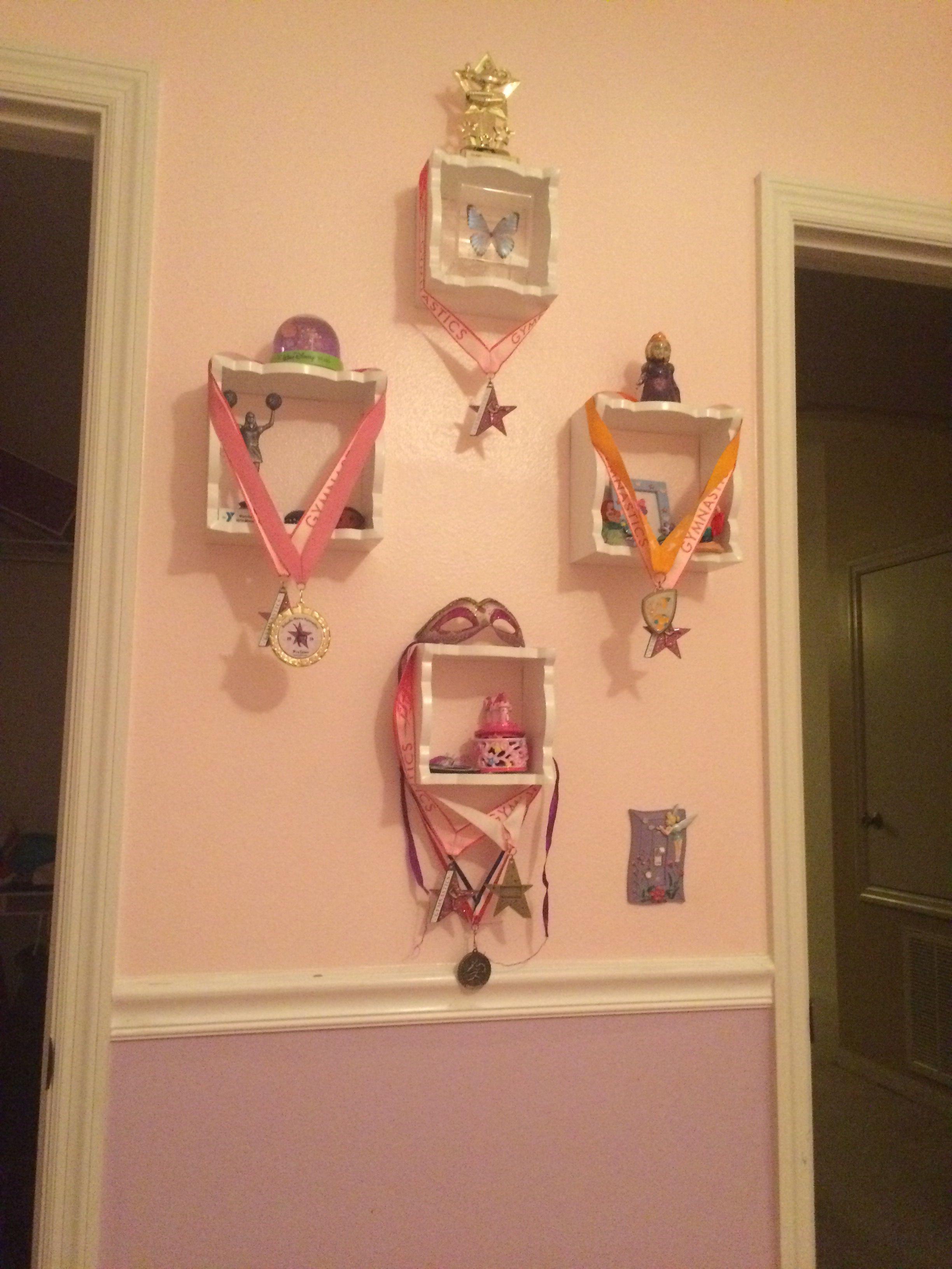 Cool Trophy Wall Idea