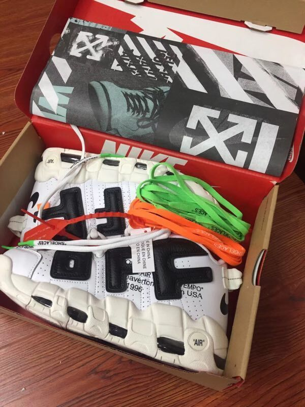 5c884df908f3c7 2017 Cheap Off-White x Nike Air More Uptempo For Sale-2