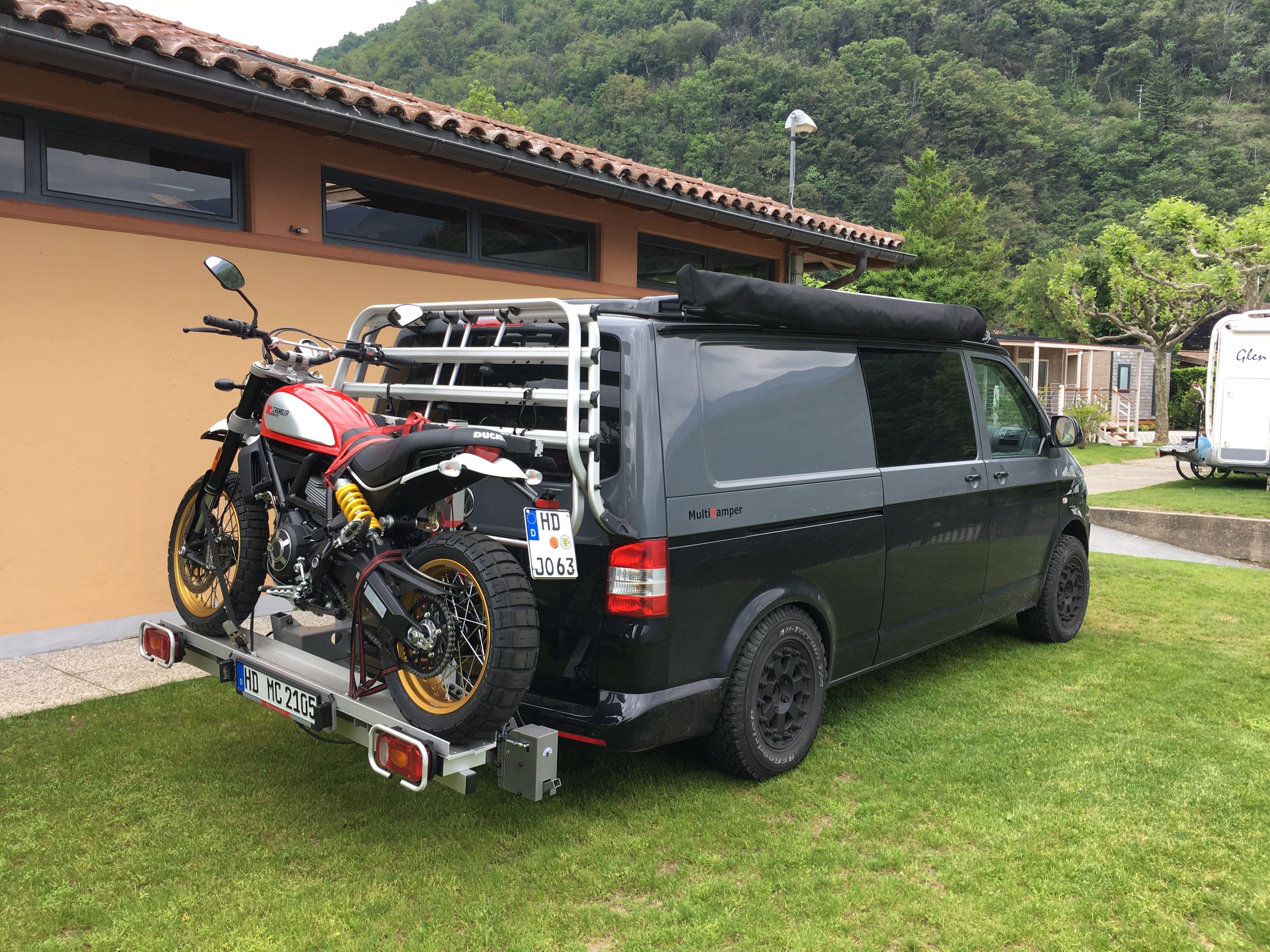 Wohnmobil Mit Motorrad