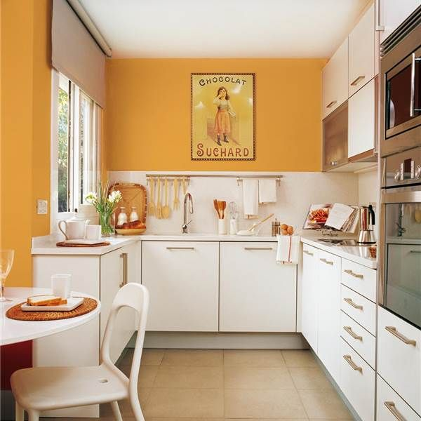 20 Cocinas Pequeñas Y Muy Bonitas Cocins Kitchen Kitchen