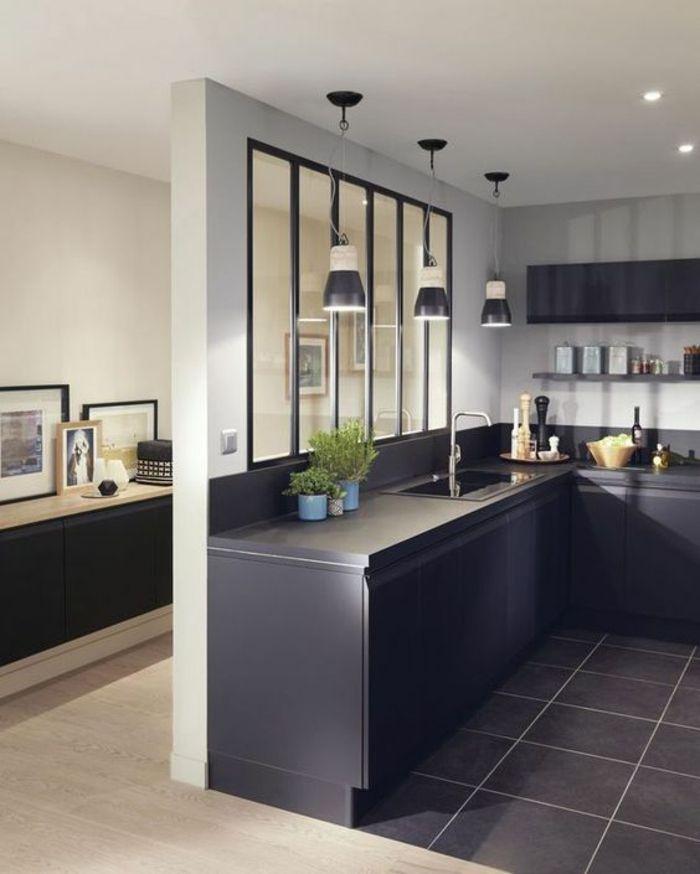▷ 1001+ Idées pour une cuisine bleu canard + les intérieurs qui ...