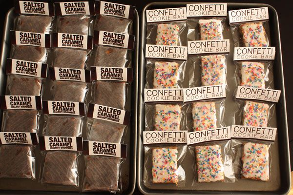 Confetti Cookie Bars #bakesaleideas