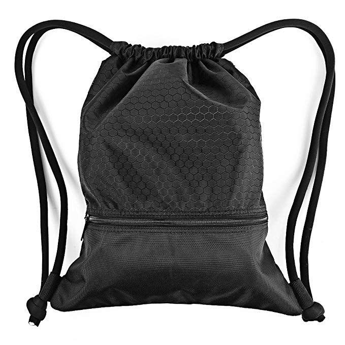 d78eaa3cabd0 ESVAN Proof Gymbag Large Drawstring Backpack Gymsack Sackpack for ...