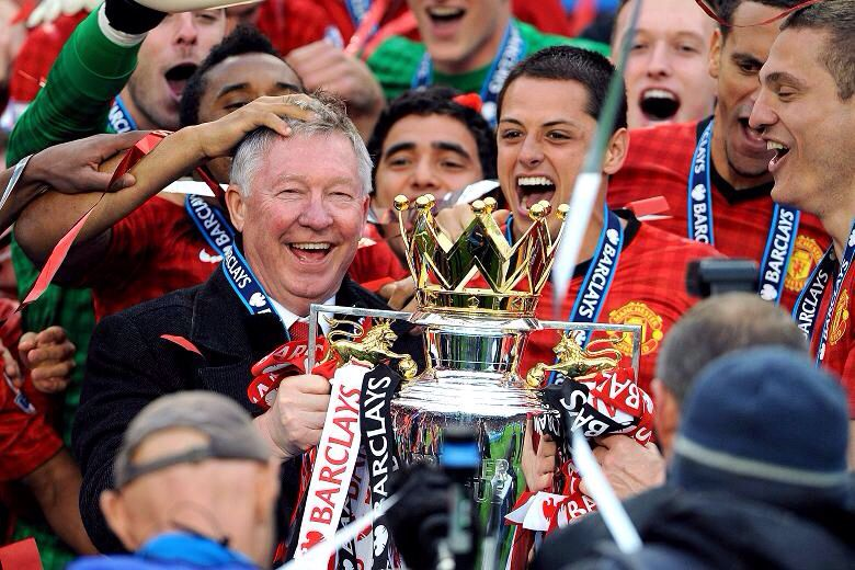 Manchester United were crowned the 2012/13 Barclays Premier League champions