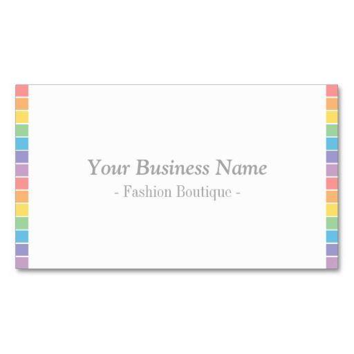 Minimalist modern rainbow fashion stylist business card templates minimalist modern rainbow fashion stylist business card templates reheart Choice Image