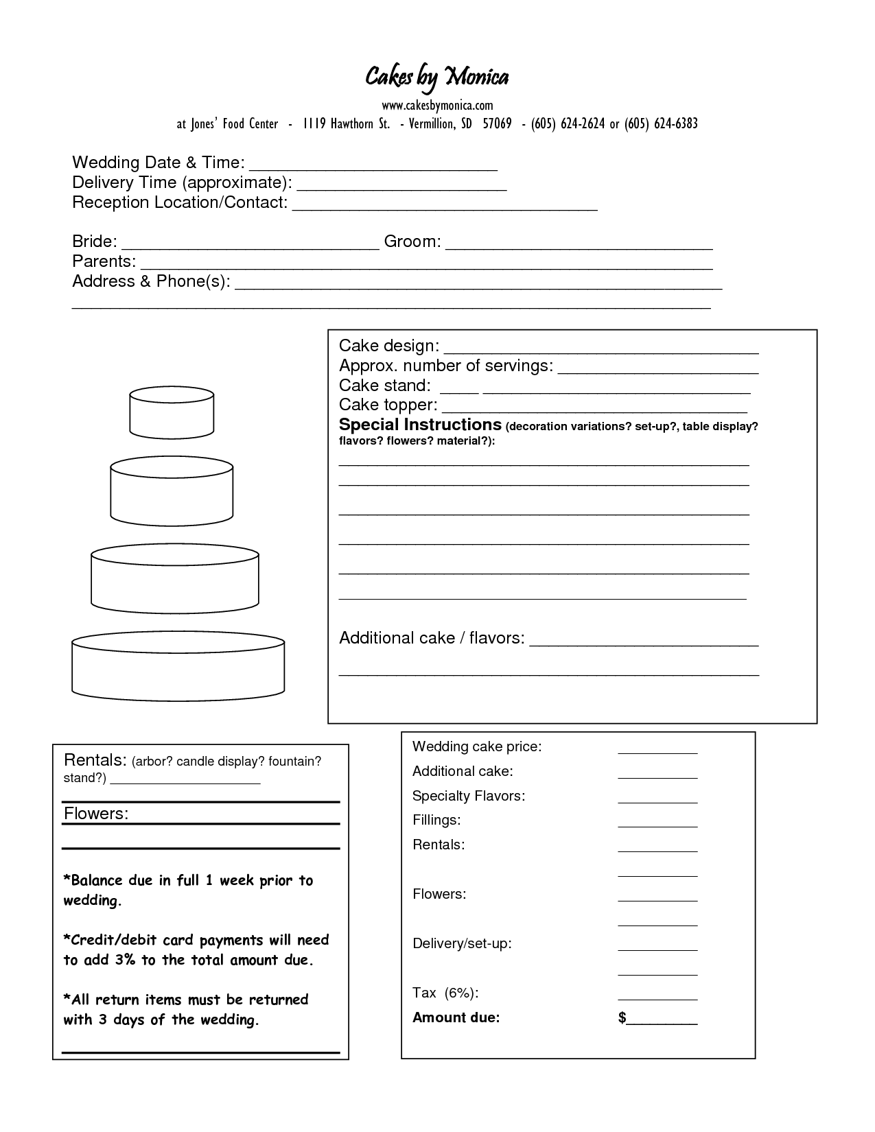 Sample Cupcake Order Form 10 Free Documents In Pdf