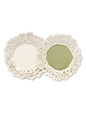 Round Plates (Set of 4) by Magenta on Gilt Home