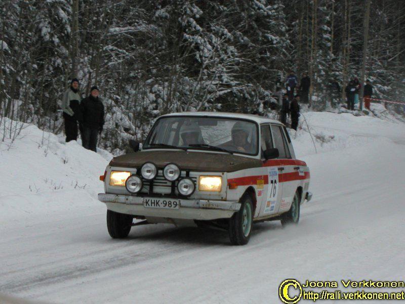 X Hotelli Peurunka-ralli 17.1.2004  Timo Ahonen / Lasse Vanhanen Wartburg 353 W 1000