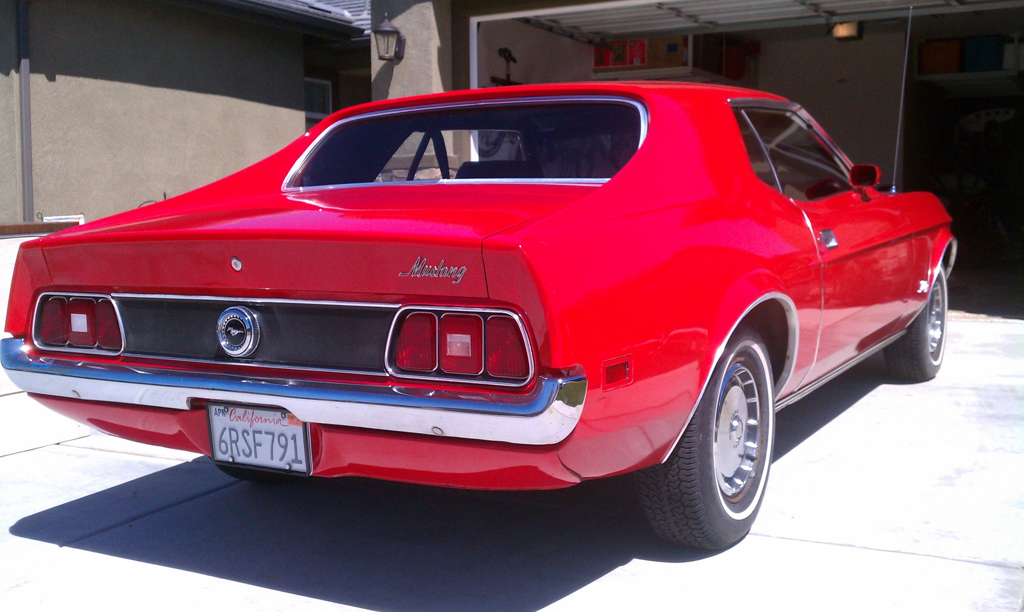1972 mustang coupe 1972 mustang hard top coupe image 2