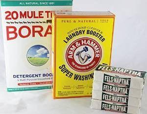 Laundry Soap Kit For Diy Powder Laundry Detergent Fels Naptha