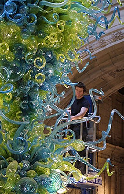 Dale Chihuly, V&A Chandelier, Victoria and Albert Museum