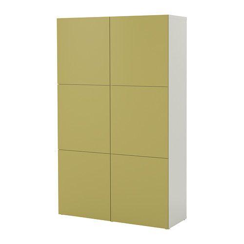 BESTÅ Aufbewahrung mit Türen IKEA Höhenverstellbare Füße; stabiler - ikea küchen türen