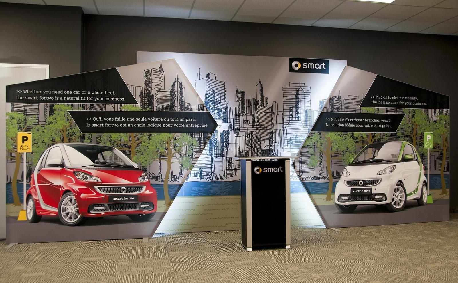 Exhibit Design Ideas Inspiration Trade Show Displays - Portable car show display stand