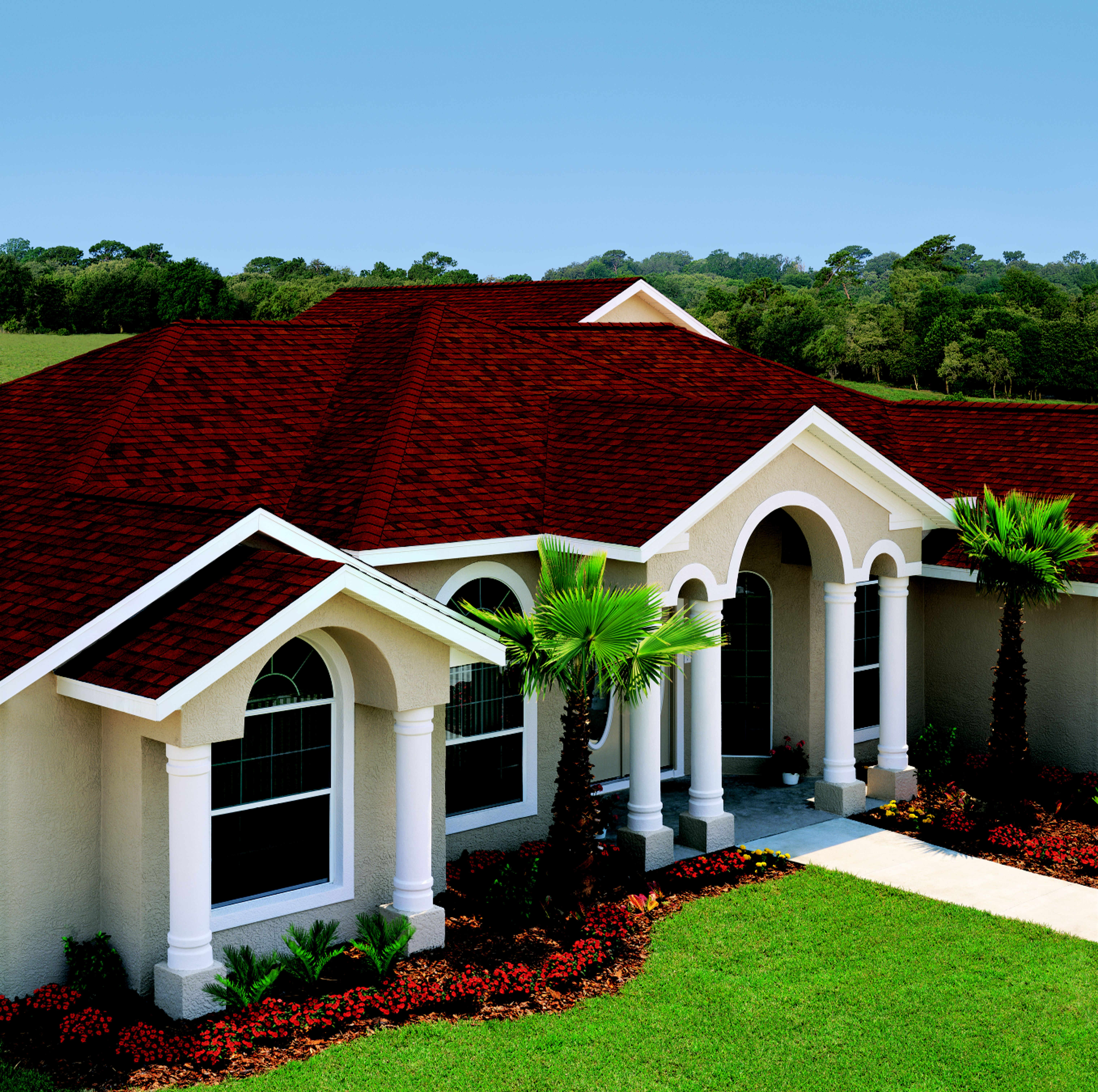 Home Designs Gallery And Interior Decorating Ideas Roof Design