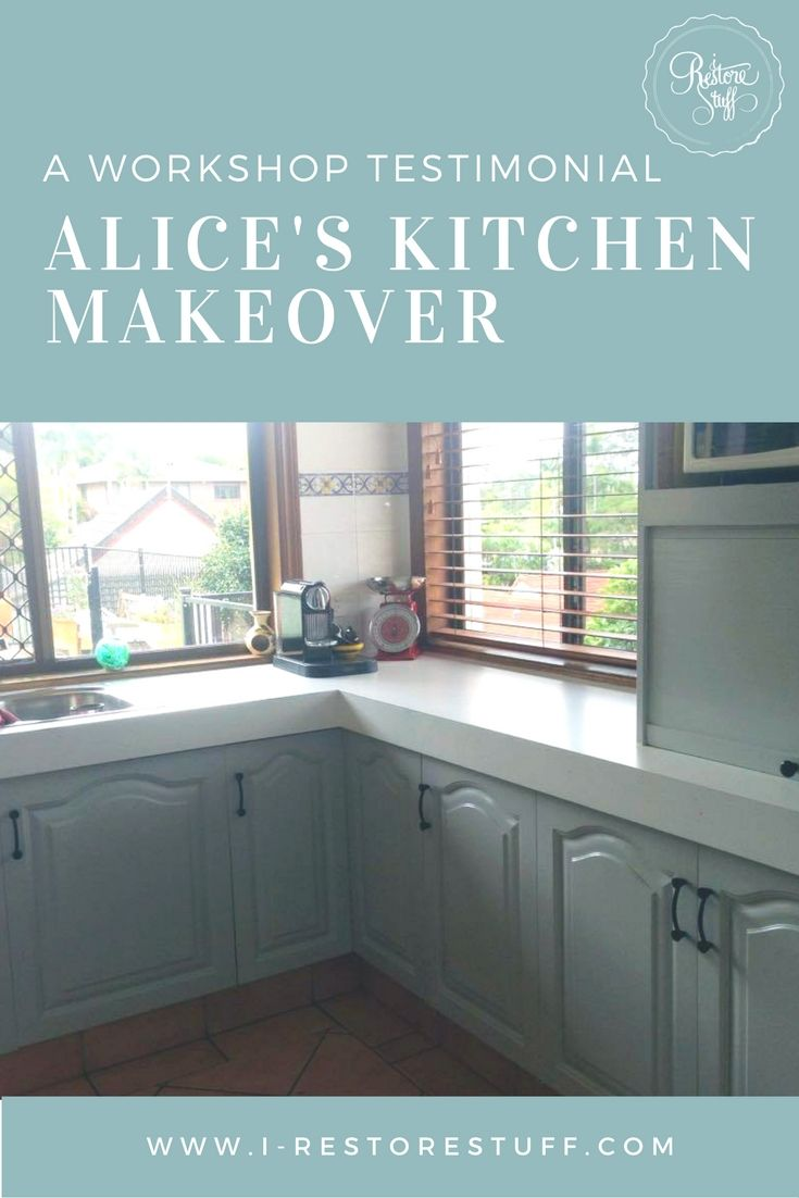 Alice\'s Fusion Mineral Paint Kitchen Cabinet Transformation | best ...