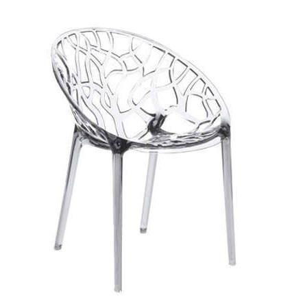 Chaise Design En Plastique Transparent Crystal Chaises Achatdesign Ventes Pas Cher Com Chaise Design Chaise Plastique Plastique Transparent