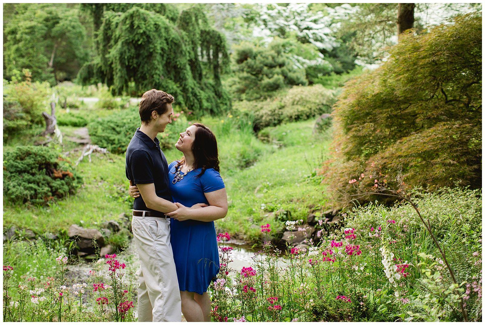 Kara And Mike Engaged Laurelwood Arboretum Wayne New Jersey