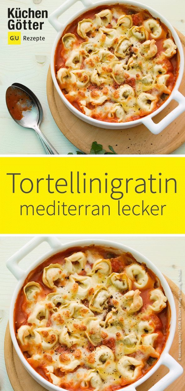 Tortellinigratin #vegetarischerezepteschnell