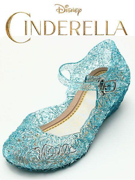 c1be6d30d44 Frozen Sneeuwkoningin prinses Elsa bevroren kristal glitter schoenen/ Cinderella Assepoester sandalen Schitterende ijsblauwe bevroren kristal