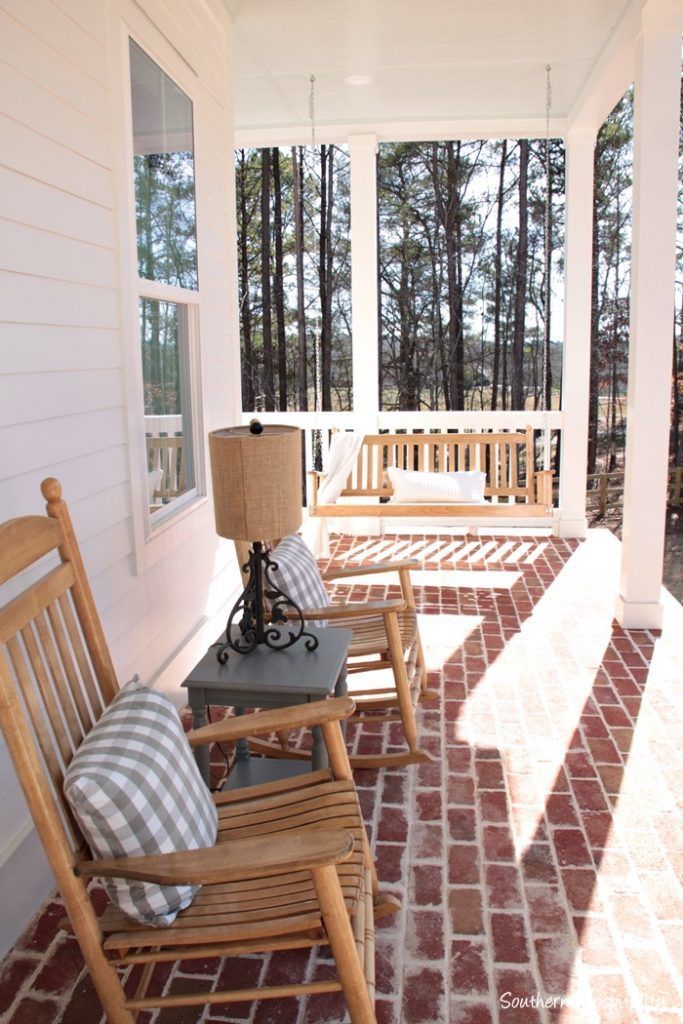Feature Friday Modern Farmhouse In North Atlanta Porch Swings And