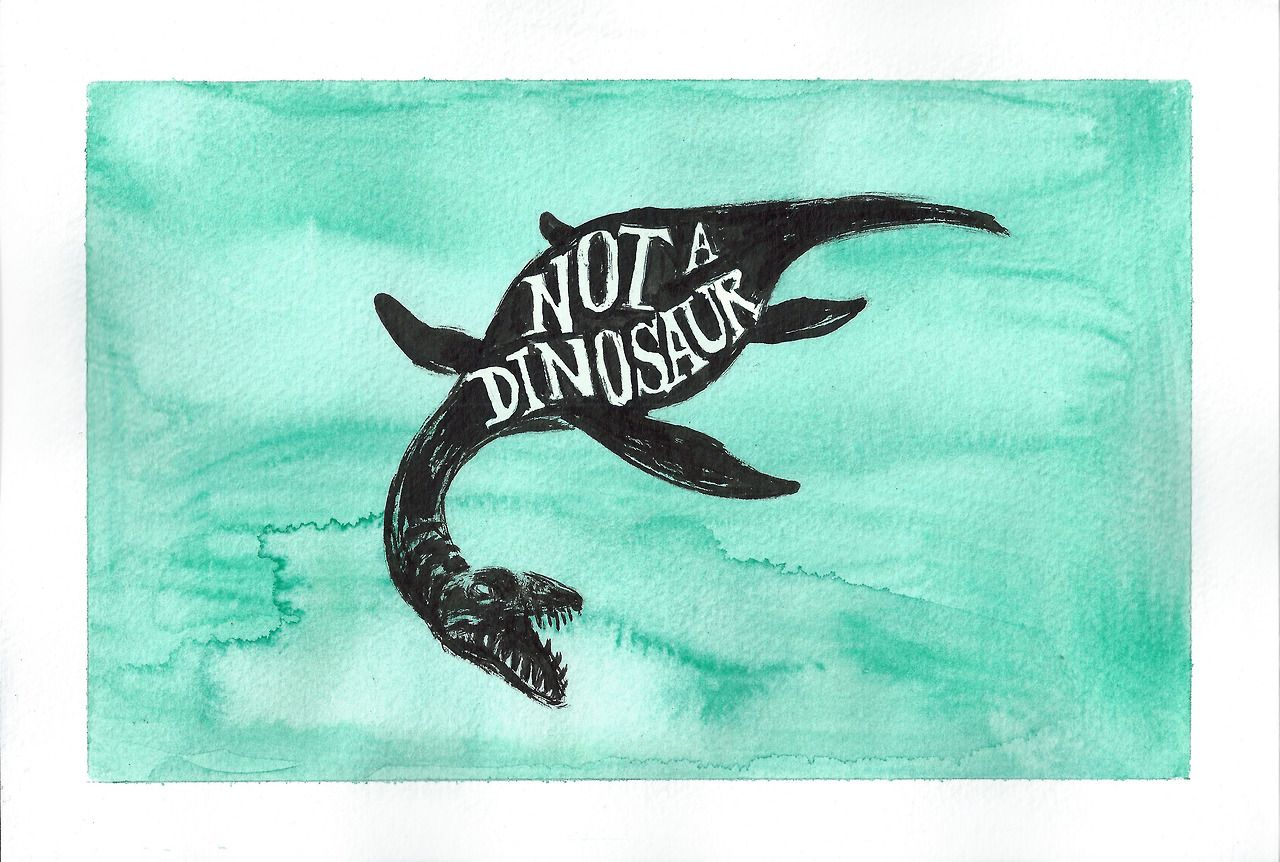 Exhibit A NOT DINOSAUR Art By Wendy And Her Tumblr Is At